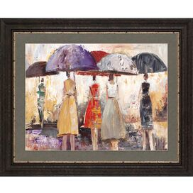 Spring Showers II Framed Print