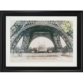 La Base de La Tour Eiffel Framed Print