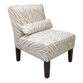Zambia Accent Chair in Graphite