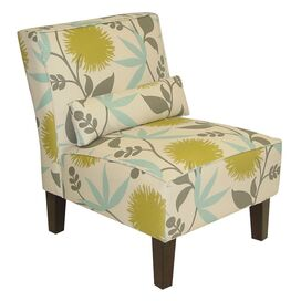 Brooklyn Side Chair in Polly Aegean