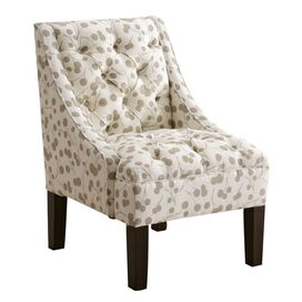 Ariel Accent Chair in Taupe