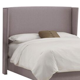 Montmartre Wingback Headboard in Quartz