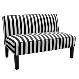 Linden Loveseat in Black