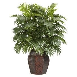 Faux Areca Palm Arrangement