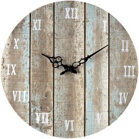 Eldridge Wall Clock in Light Blue