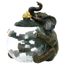 Sitting Elephant Jar
