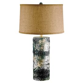 Birch Bark Table Lamp