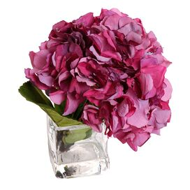 New Growth Designs Faux Hydrangea Arrangement VI