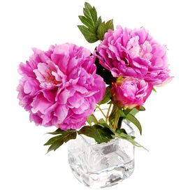 New Growth Designs Faux Peony Arrangement II