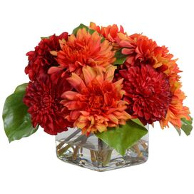 Faux Red Dahlia, New Growth Designs
