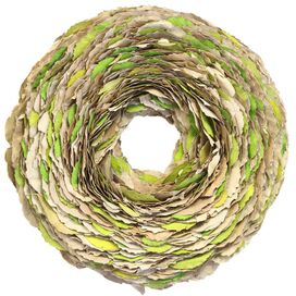 Layered Leaves Wreath