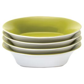 Round & Square Soup Bowl in Green