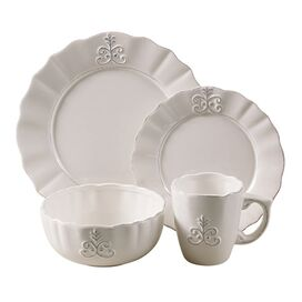 16-Piece Lyon Dinnerware Set