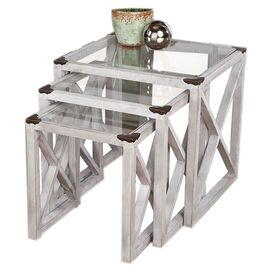 3 Piece Moby Nesting Table Set