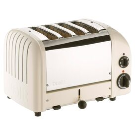 NewGen 4 Slice Toaster in Canvas White