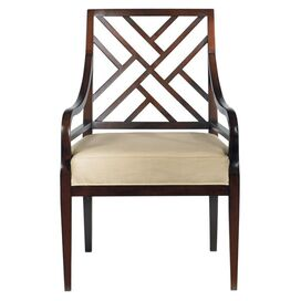 Continuum Arm Chair in Amaretto Cherry