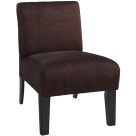Deco Accent Chair in Brown