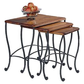 3 Piece Cambridge Nesting Table Set