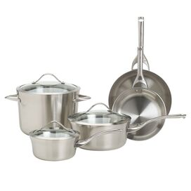 Calphalon 8 Piece Stainless Cookware Set