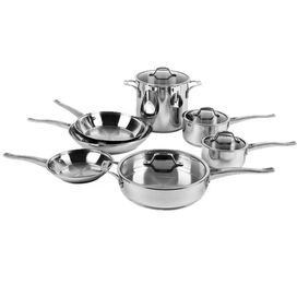 11 Piece Refined Cookware Set