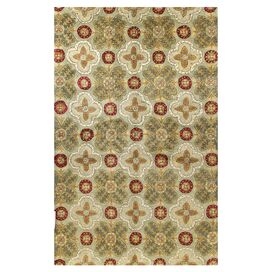 Eliana Rug in Light Green