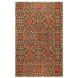 Oakfield Area Rug in Chocolate