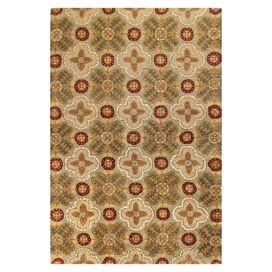 Carfax Rug in Green