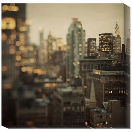 City of Glass Canvas Print