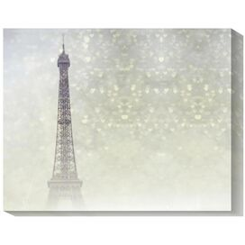 Paris Twinkle Canvas Giclee Print