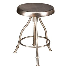 C.G. Sparks Edison Stool in Nickel