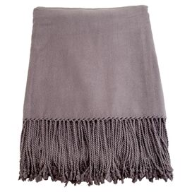 Marjorie Throw in Steel