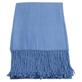 Marjorie Throw in Periwinkle
