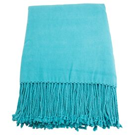 Marjorie Throw in Aqua