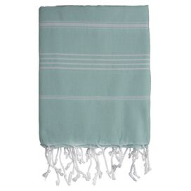 Castries Fouta Towel in Aqua
