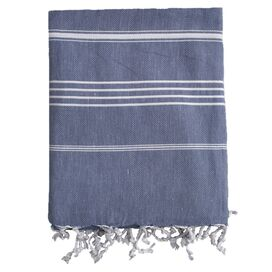 Castries Fouta Towel in Blue