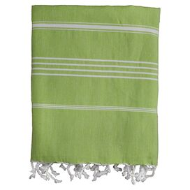 Castries Fouta Towel in Green