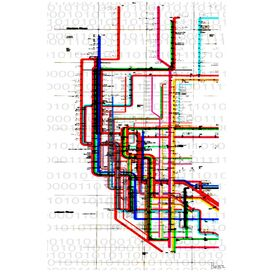 Subway Canvas Art