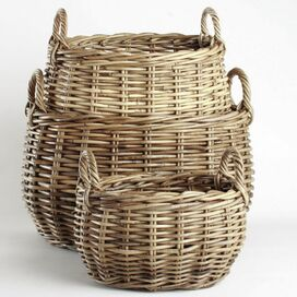 Gracen Rattan Basket