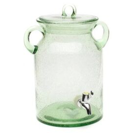 Apothecary Beverage Dispenser in Green