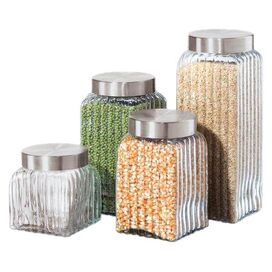 4 Piece Luca Canister Set