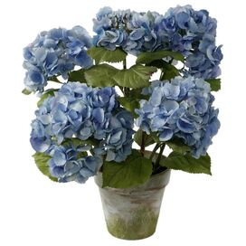 Faux Potted Hydrangea Arrangement I