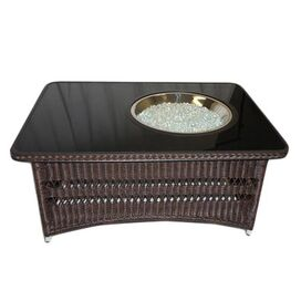 Naples Coffee Table with Firepit