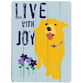 Live With Joy Wall Decor