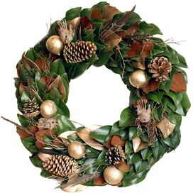 Golden Woodlands Wreath I