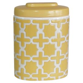 Large Ostara Jar II in Yellow