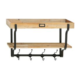 Austin Wall Rack & Shelf