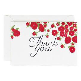 Vera Wang Flower Thank You Note