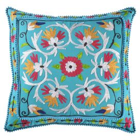 Agra Pillow in Blue