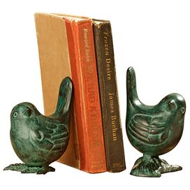 2 Piece Agreste Bookend Set
