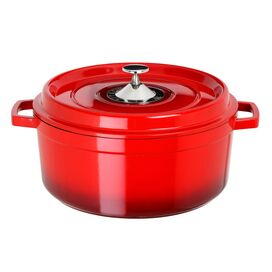 2.5 Quart Soup Pot in Red
